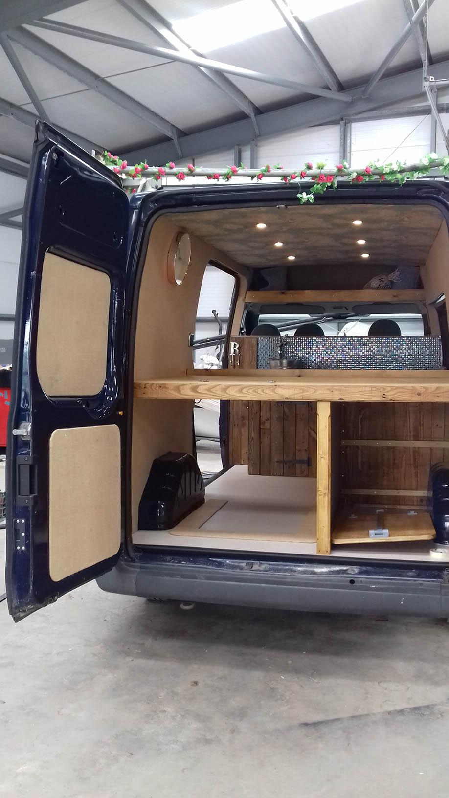 camper conversions firehouse campers camper. Black Bedroom Furniture Sets. Home Design Ideas