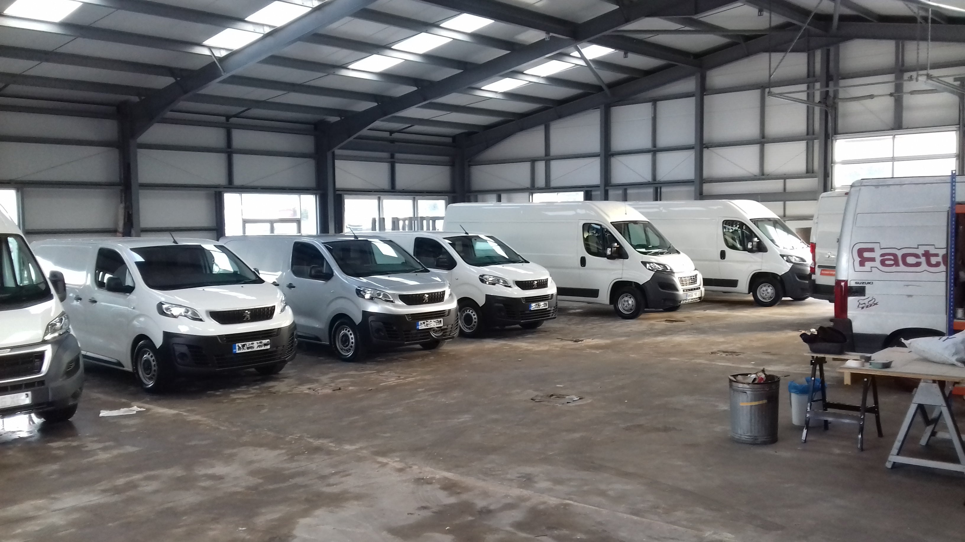 Van Conversion Workshop Today In Cornwall 20161207 144705 144652 144431