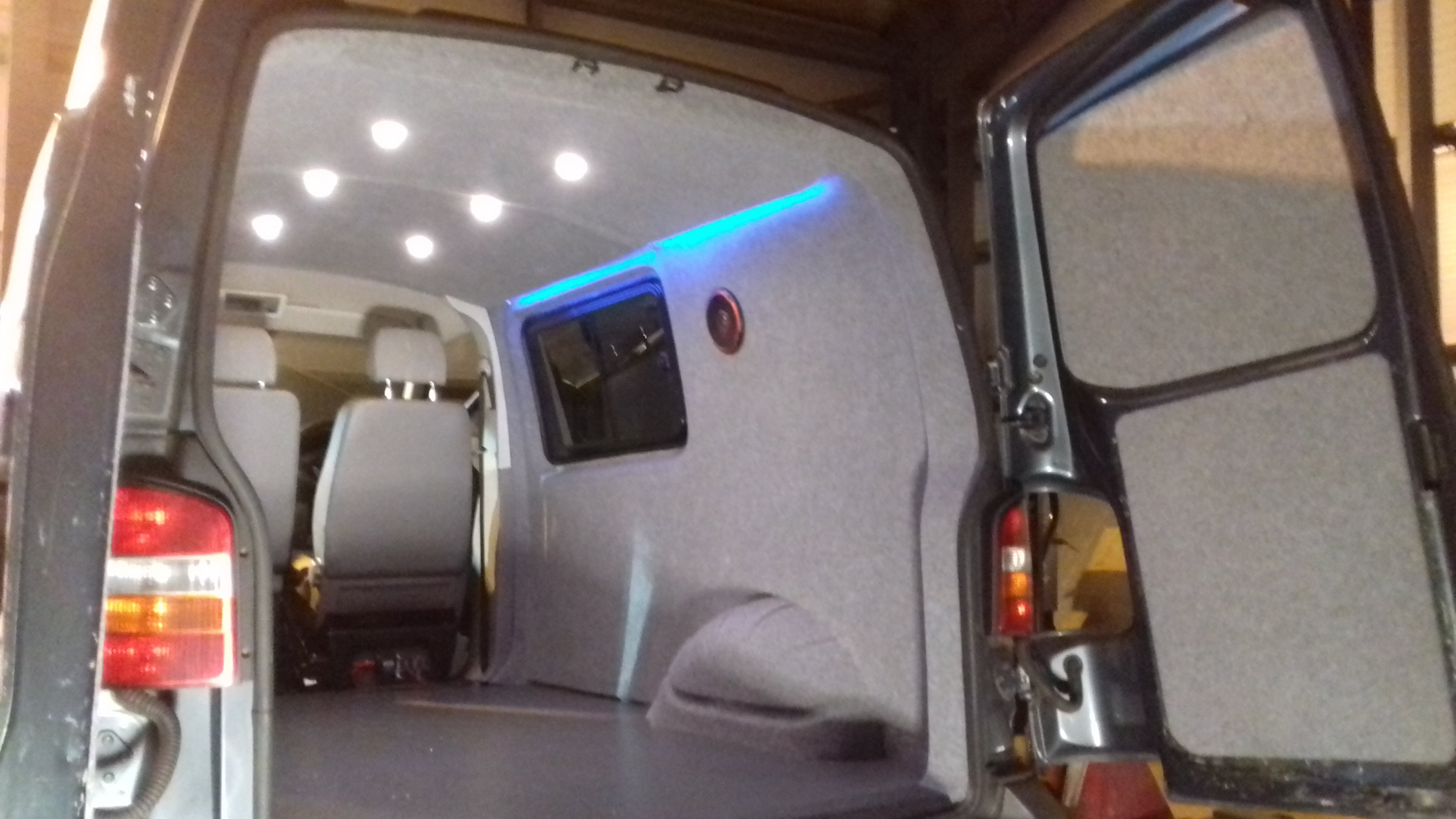 Van Conversion Camper Cornwall 008