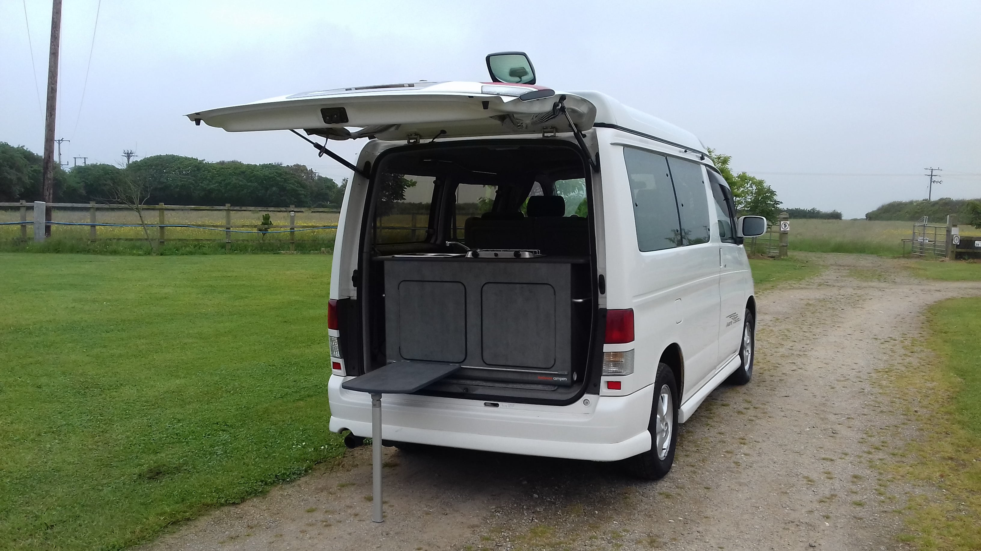 Mazda Bongo Kitchen Pod By Firehouse Campers Cornwall