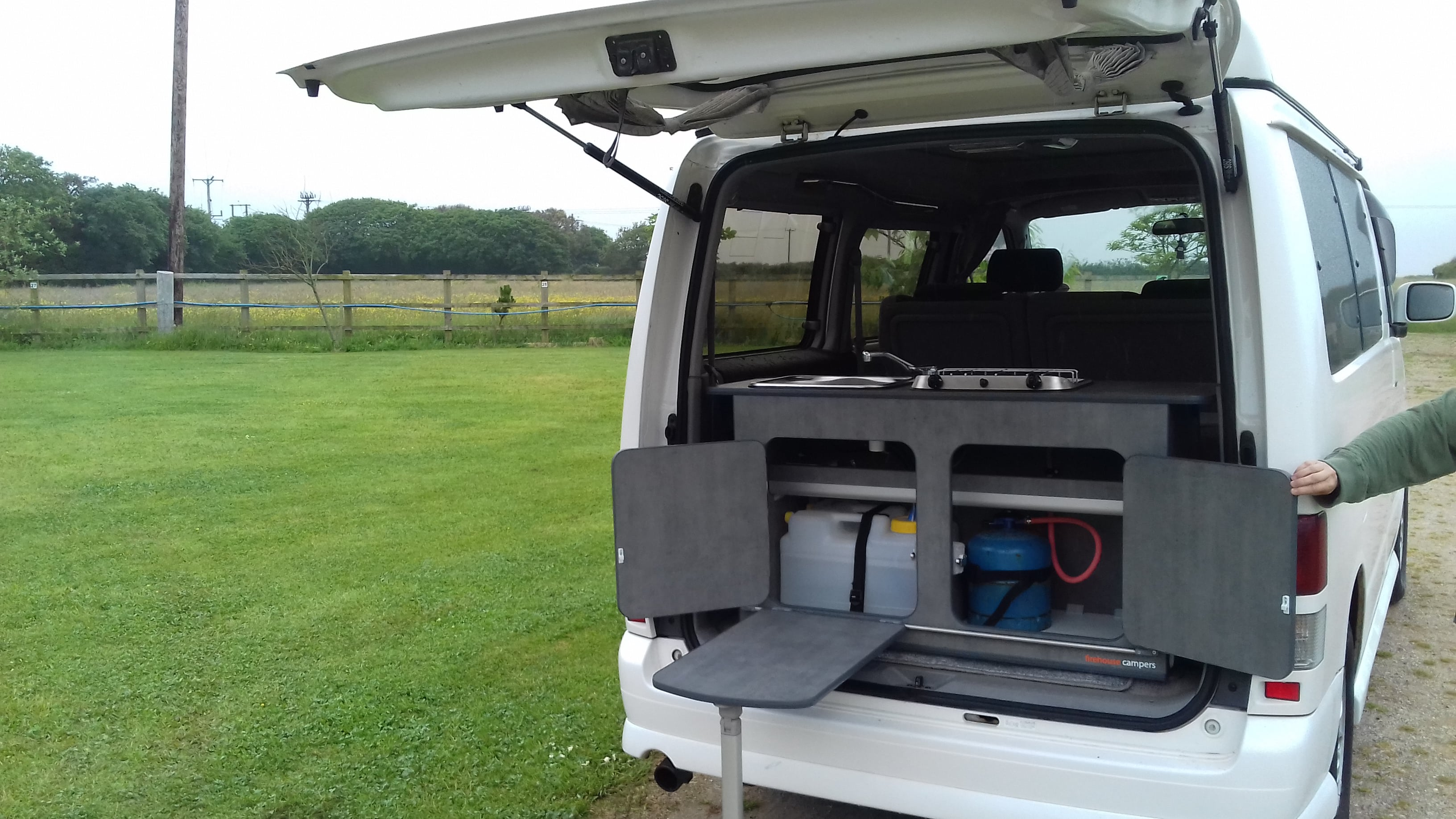 Mazda Bongo Kitchen Pod By Firehouse Campers Cornwall