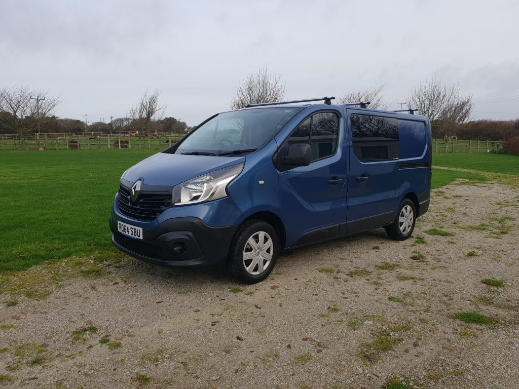Renault Trafic Van Conversion Cornwall Firehouse Campers